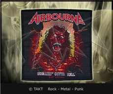 Nášivka Airbourne - breakin Outta Hell