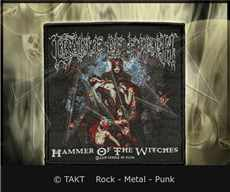 Nášivka Cradle Of Filth - hammer Of The Witches