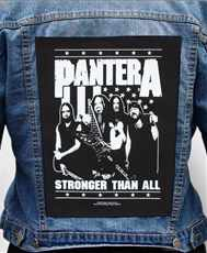 Nášivka na bundu Pantera - stronger Than All Band