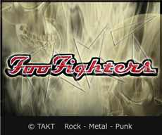 Nášivka - Nažehlovačka Foo Fighters - logo
