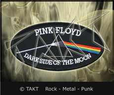 Nášivka - Nažehlovačka Pink Floyd - The Dark Side Of The Moon 2