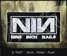 Nášivka Nine Inch Nails - logo