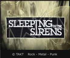 Nášivka Sleeping With Sirens - logo