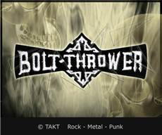 Nášivka - Nažehlovačka Bolt Thrower Logo