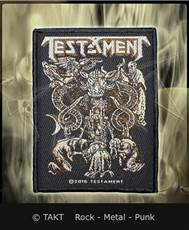 Nášivka Testament - demonarchy